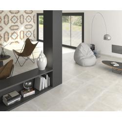 Carrelage imitation carreau de ciment ancien décor Grès Cérame 60x60 cm TEMPO CELENO - 1 Arcana