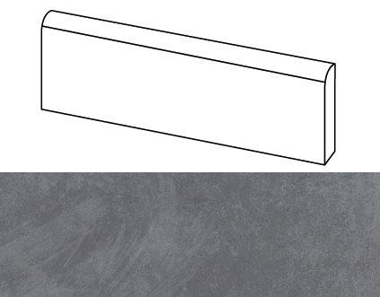 Plinthe intérieur Beton Anthracite 9.4x60 cm - 10.2mL - zoom