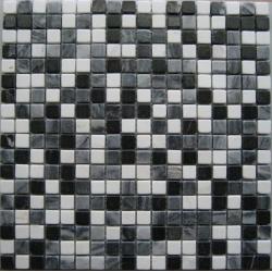 Mosaique marbre multicouleur 4 1.5x1.5 cm - unité Barwolf