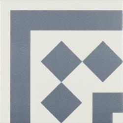 Carrelage d'angle 20x20 cm ANTIGUA AZUL - unité Ribesalbes