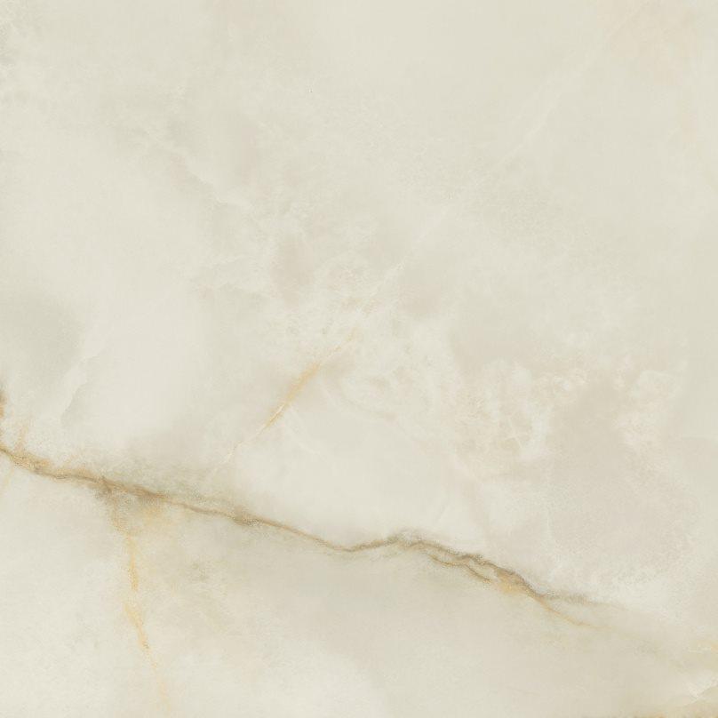 Carrelage marbré rectifié poli 60x60 cm QUIOS CREAM PULIDO - 1.08m² - zoom