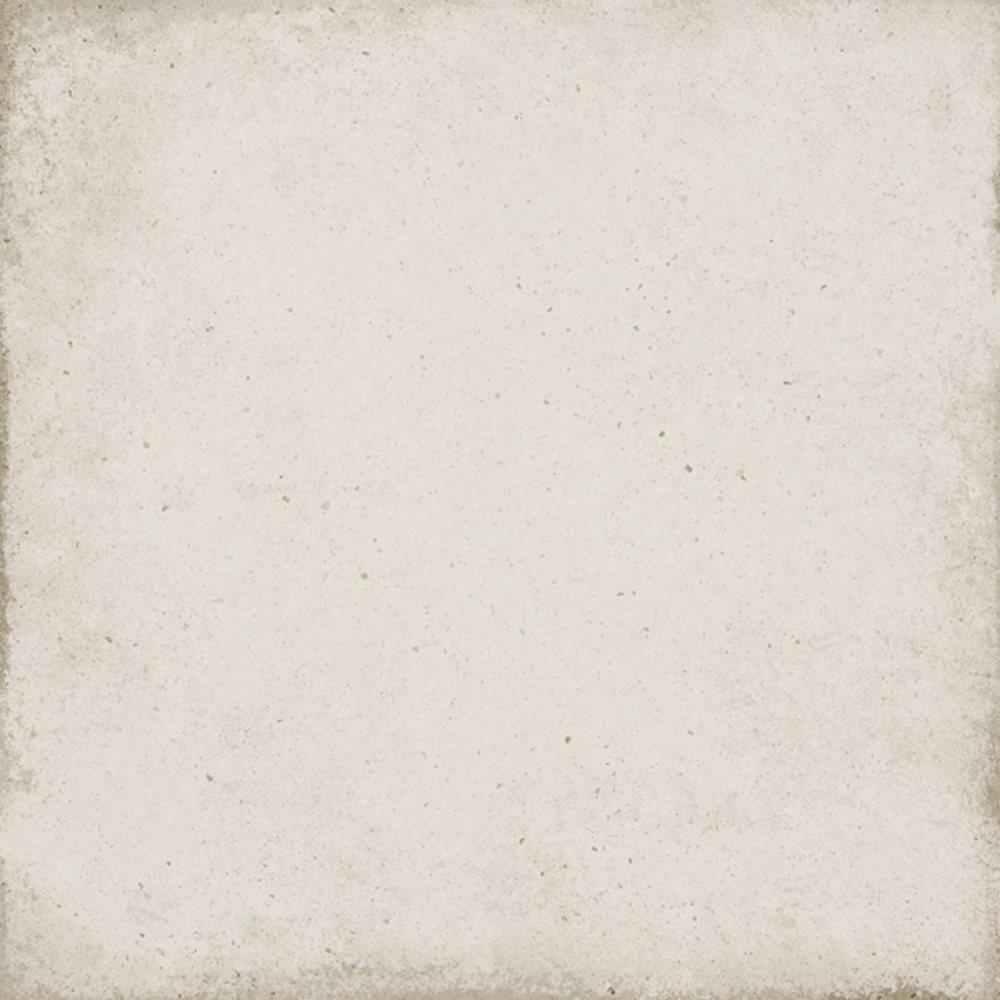 Carrelage uni vieilli ivoire 20x20 cm ART NOUVEAU BONE 24387 - 1m² - zoom