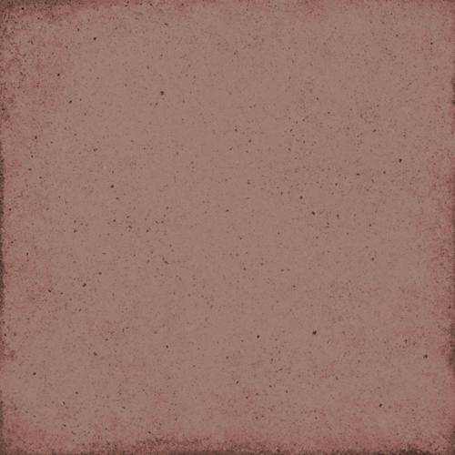 Carrelage uni vieilli rouge 20x20 cm ART NOUVEAU BURGUNDY 24394 - 1m² Equipe