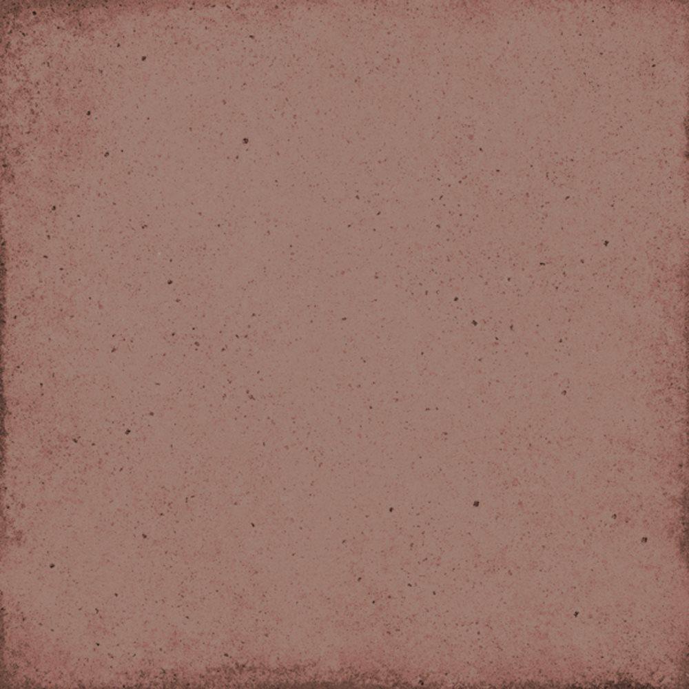 Carrelage uni vieilli rouge 20x20 cm ART NOUVEAU BURGUNDY 24394 - 1m² - zoom