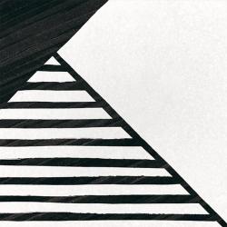 Carrelage imitation ciment 20x20 cm CAPRICE DECO ORIGAMI B&W 22127- 1m² Equipe