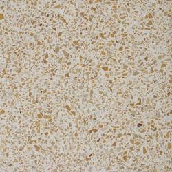 Carreau terrazzo véritable pleine masse Jaune orangé 40x40 cm ref PP15 - 0.80m² Carreaux ciment véritables