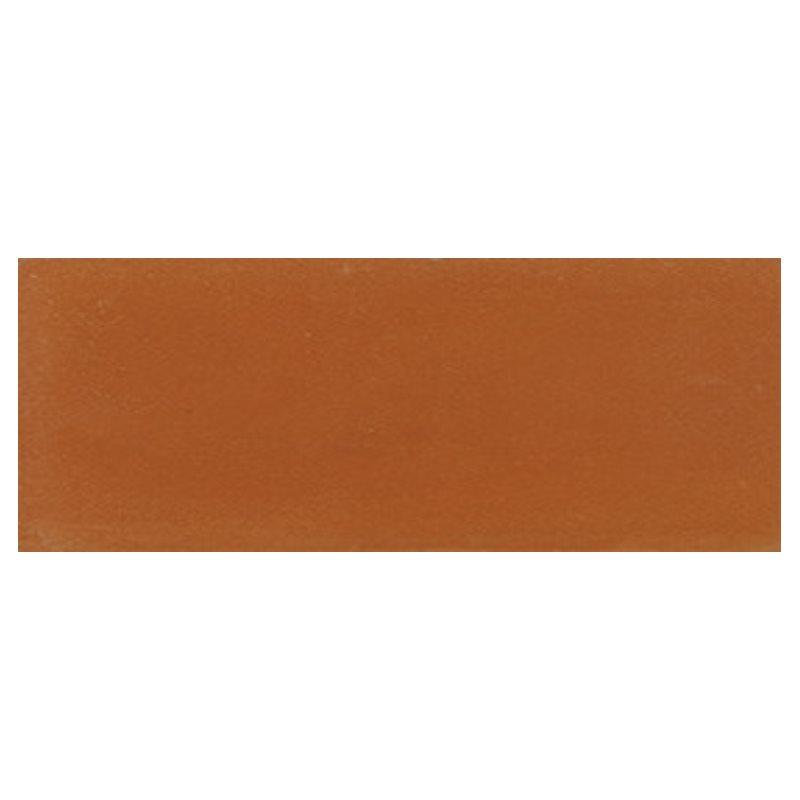 Plinthe de carreau de ciment véritable unie BRIQUE 10x20 cm - 4mL - zoom