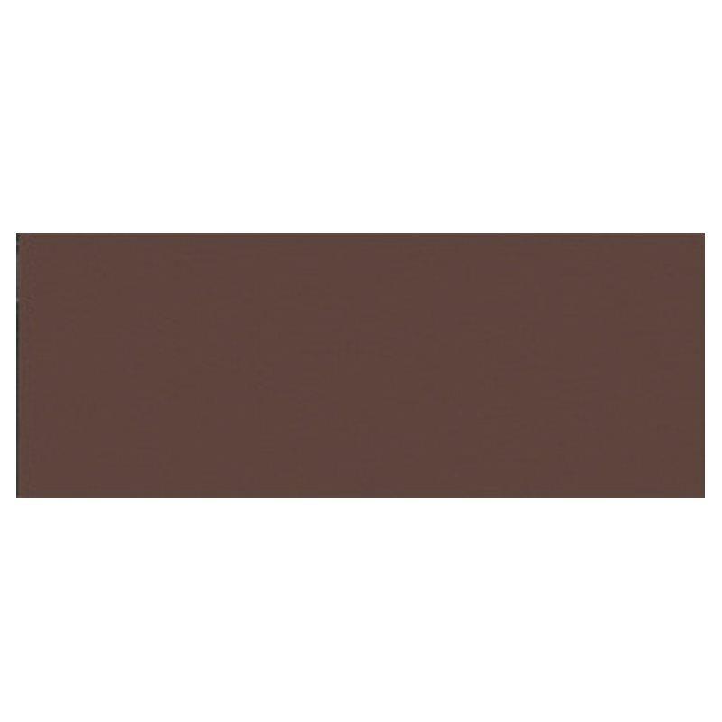 Plinthe de carreau de ciment véritable unie CACHOU 10x20 cm - 4mL - zoom
