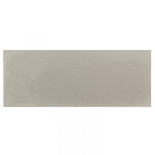 Plinthe de carreau de ciment véritable unie CENDRE 10x20 cm - 4mL Carreaux ciment véritables