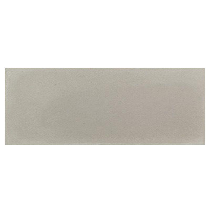 Plinthe de carreau de ciment véritable unie CENDRE 10x20 cm - 4mL - zoom