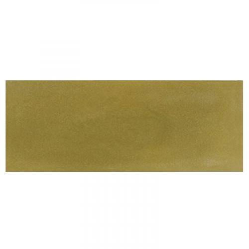 Plinthe de carreau de ciment véritable unie VERT OLIVE 10x20 cm - 4mL Carreaux ciment véritables