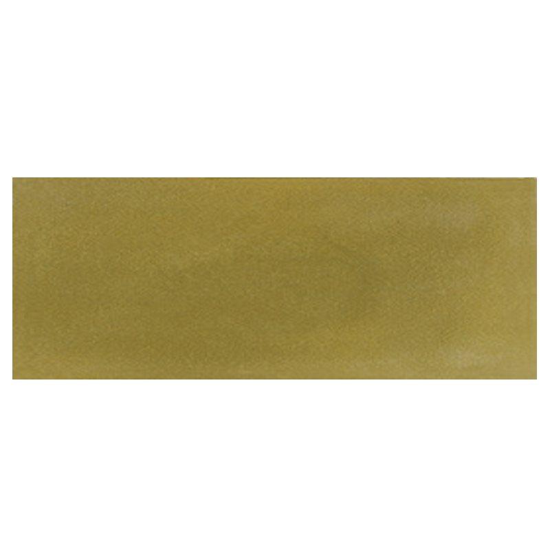 Plinthe de carreau de ciment véritable unie VERT OLIVE 10x20 cm - 4mL - zoom