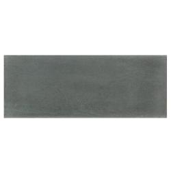 Plinthe de carreau de ciment véritable unie POIVRE 10x20 cm - 4mL Carreaux ciment véritables