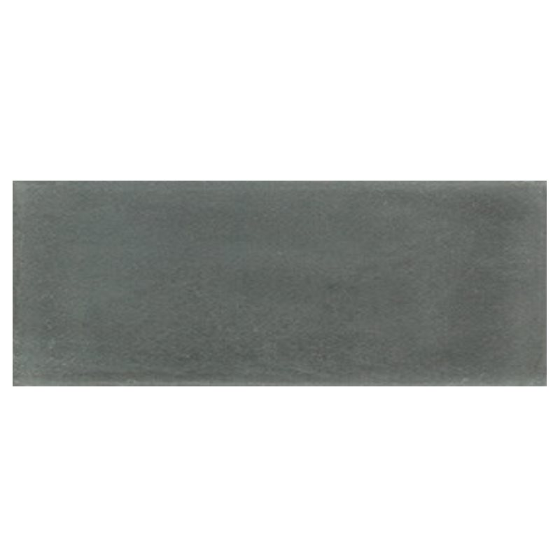 Plinthe de carreau de ciment véritable unie POIVRE 10x20 cm - 4mL - zoom