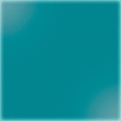 Carreaux 10x10 cm bleu canard brillant SILICIO CERAME - 1m² - zoom