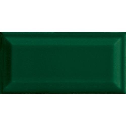 Carreau métro grès cérame vert RAME 7,5x15 cm - 1 m² - zoom