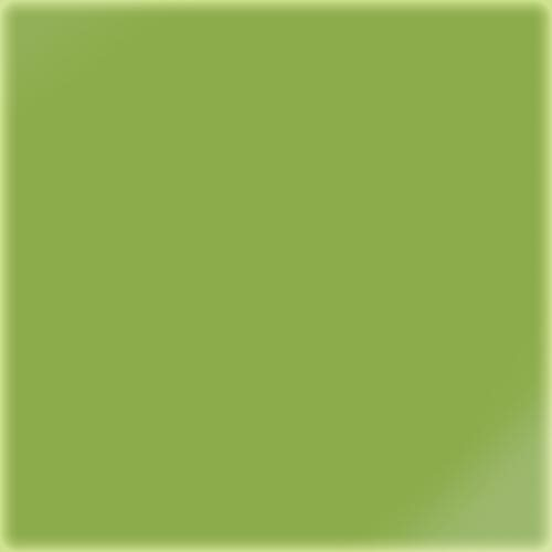 Carrelage uni 20x20 cm vert absi brillant LIME - 1.4m² CE.SI