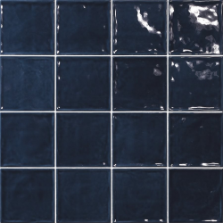 Carrelage effet zellige bleu 15x15 CHIC MARINO - 1m² El Barco