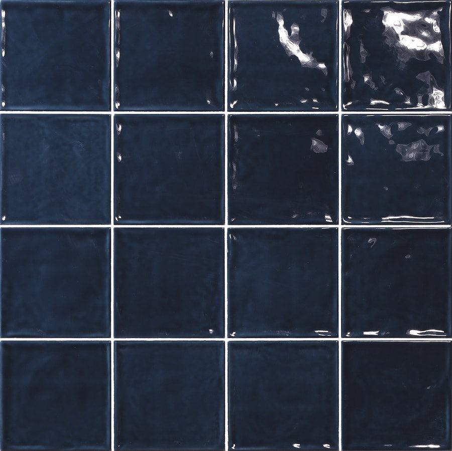 Carrelage effet zellige bleu 15x15 CHIC MARINO - 1m² - zoom