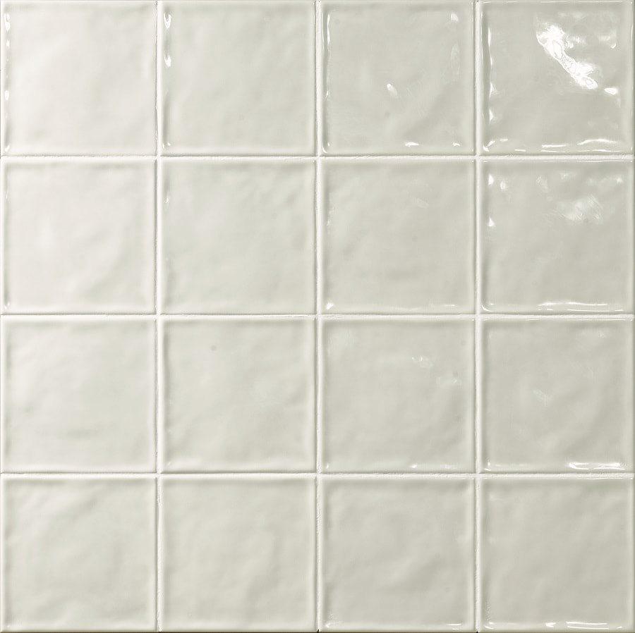 Carrelage effet zellige blanc 15x15 CHIC NEUTRO - 1m² - zoom