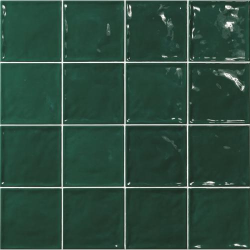 Carrelage effet zellige vert 15x15 CHIC Verde - 1m² El Barco