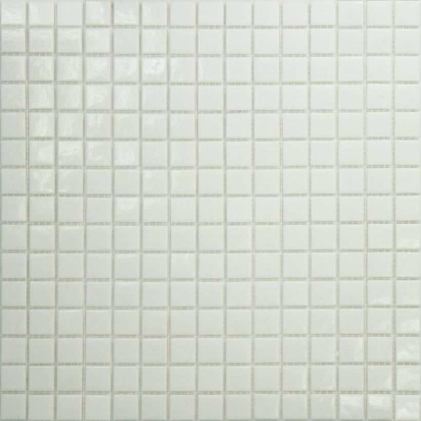 Mosaique piscine Blanche A11 20x20mm - 2.14m² - zoom