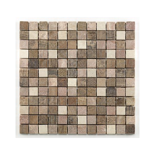 Mosaique marbre beige Barwolf