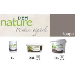 Peinture naturelle végétale Taupe Défi