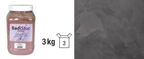 Chaux véritable ébène anthracite déco stuc ou badigeon intérieur extérieur - 3kg - zoom