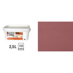Peinture naturelle à la chaux intérieur extérieur Rouge Toscan - 2 Défi