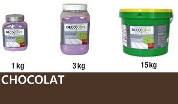 Joint carrelage marron chocolat - zoom