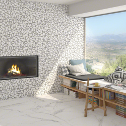 Carrelage marbré 60x60 cm DONEY Blanco - 1.08m² Vives Azulejos y Gres
