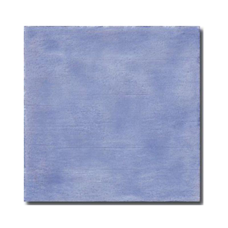 Faience rustique patinée LAVANDE 15x15 cm - 1m² - zoom