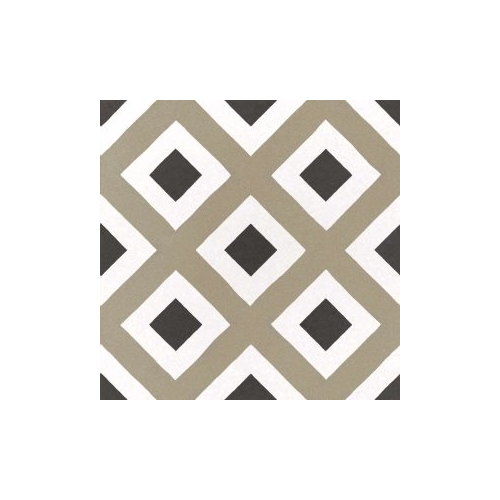 Carrelage imitation ciment géométrique damier 20x20 cm CAPRICE CITY COLOURS 22113 - 1m² Equipe