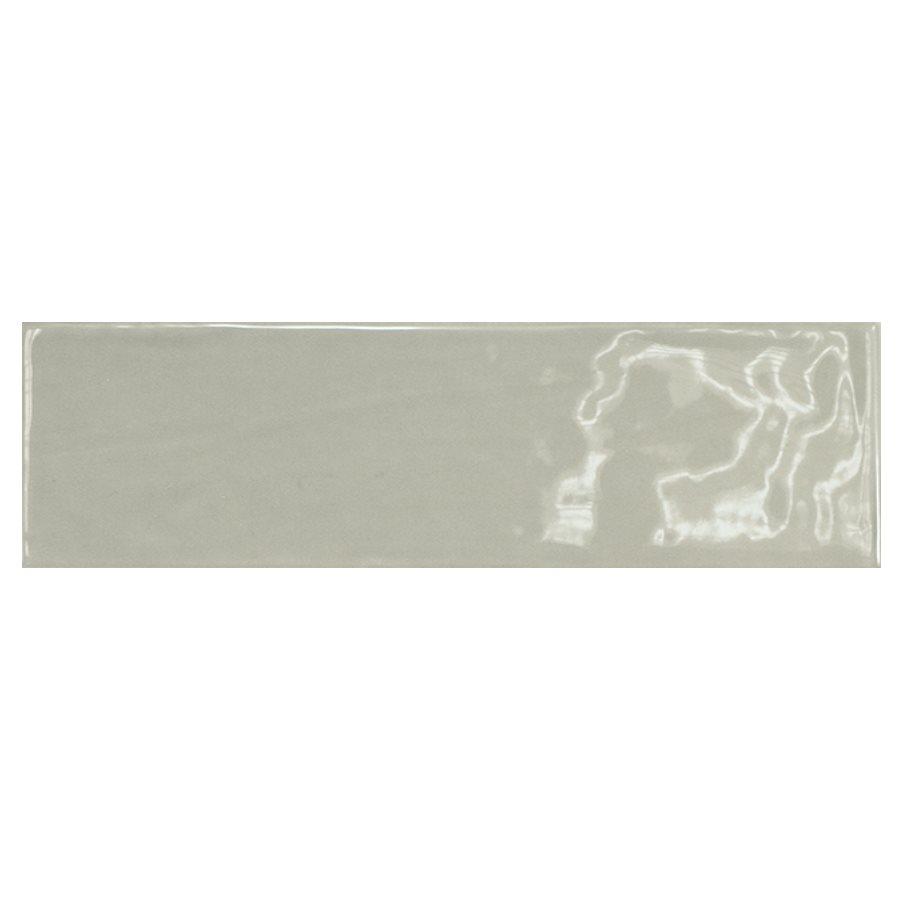 Carrelage uni brillant vert 6.5x20cm COUNTRY MIST GREEN 21540 - 0.5m² - zoom