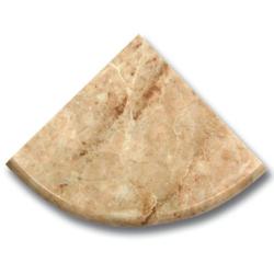 Étagère marbe beige 15x15 cm SF