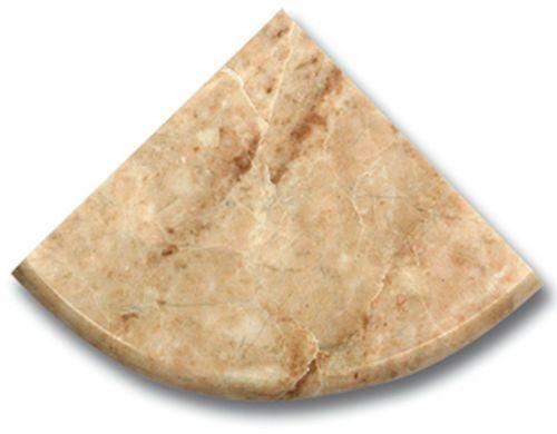 Étagère marbe beige 15x15 cm - zoom