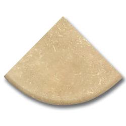 Étagère travertin beige 15x15 cm SF