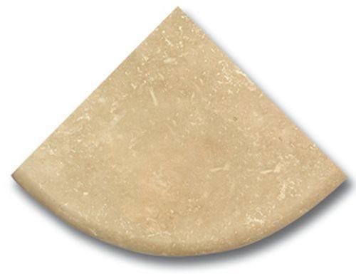 Étagère travertin beige 15x15 cm - zoom