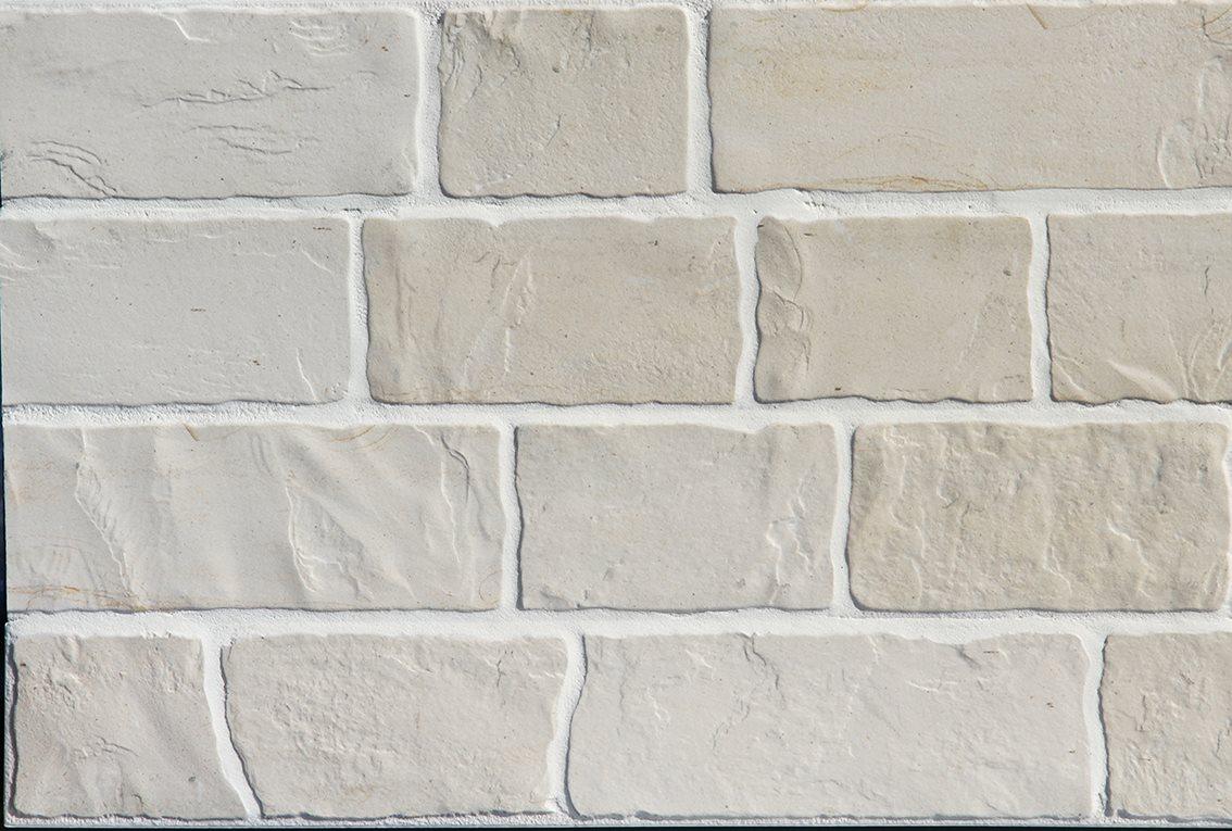 Parement mural réaliste cérame style pierre 9x60 cm MURETTO NATURAL Beige clair - 0.76m² - zoom
