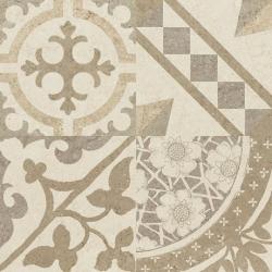 Carrelage Beige imitation décor carreau ciment 45x45 cm RIVIERA BONE - 1.4m² Baldocer