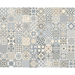 Carrelage style ancien ciment HERITAGE GREY 33x33 cm - 1.32m² GayaFores