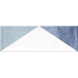 Faience murale triangles colorés BRICK DELTA MIX 11x33 cm - 1.13m² GayaFores