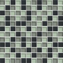 Mosaique salle de bain Glasmosaik graffitmix 2.3x2.3 cm - 30x30 - unité Barwolf