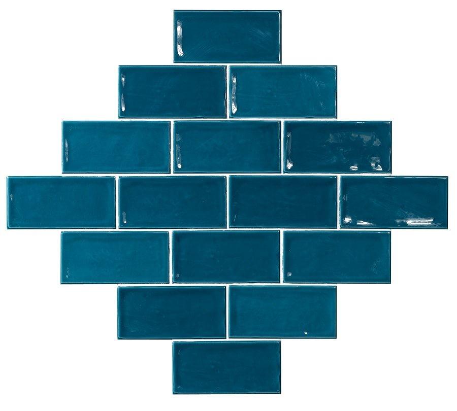 Carrelage effet zellige 7.5x15 GLAMOUR BONDI - 0.45m² - zoom