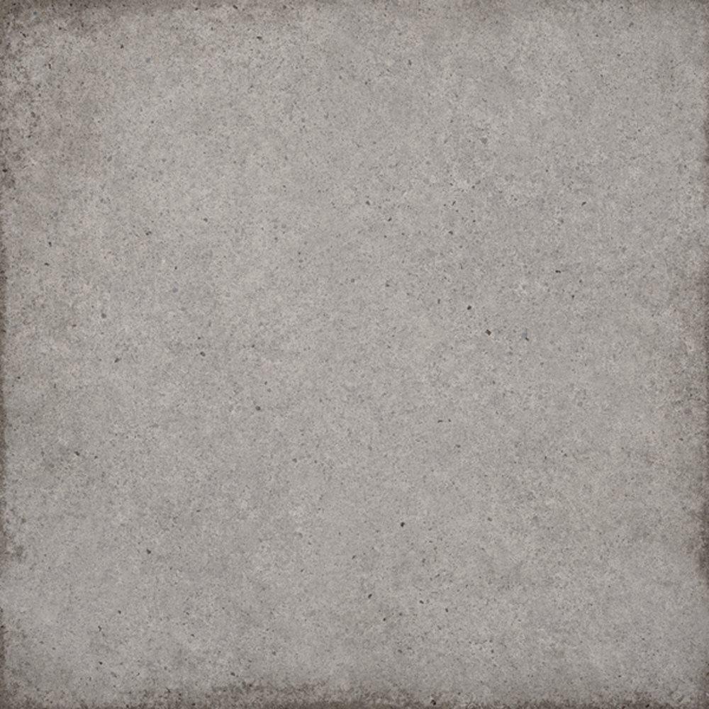 Carrelage uni vieilli gris 20x20 cm ART NOUVEAU GREY 24395 - 1m² - zoom