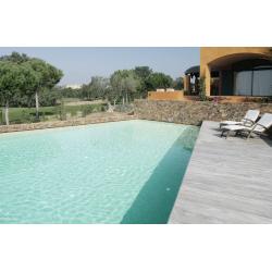 Mosaique de piscine bleue ciel LIMPIA 33.4x33.4 cm - 2 m² ASDC