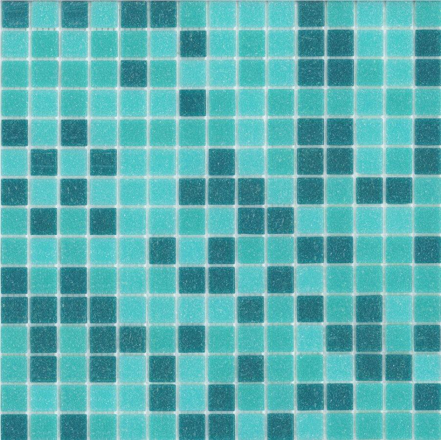 Mosaique piscine Aquamarine  31.5x31.5 cm - 1 m² - zoom
