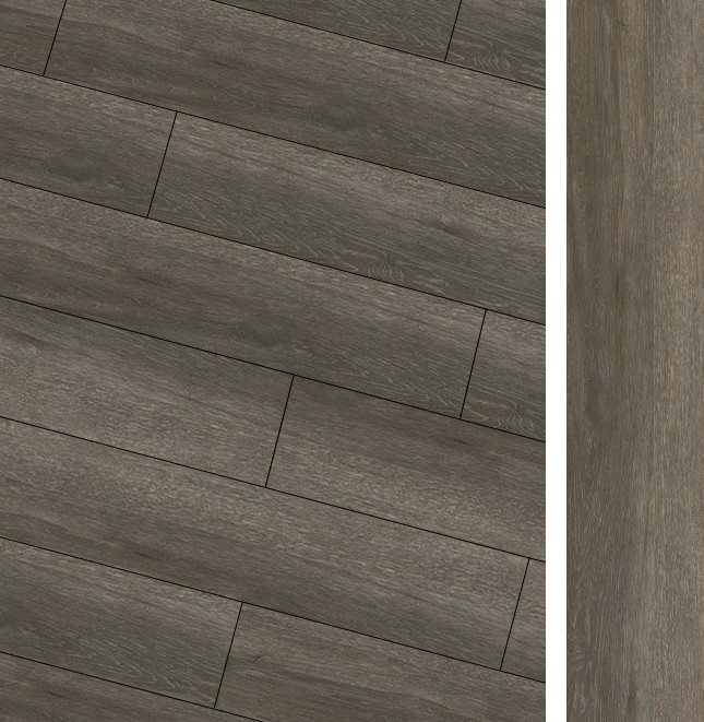 Carrelage imitation parquet rectifié Maryland Nogal R10 20x114 cm - 1.14m² - zoom