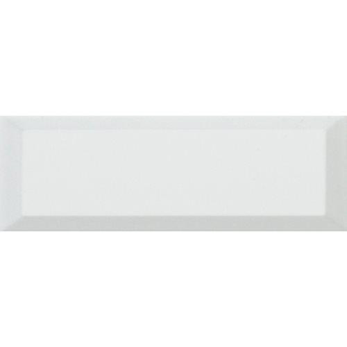 Carreaux Métro géants blanc mat 15x45 cm - 1m² El Barco